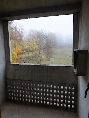 La Tourette - balkon