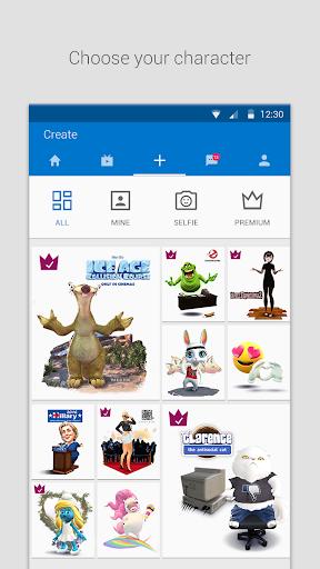 Zoobe - cartoon voice messages