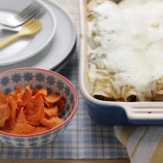 Veggie-Packed Enchiladas with White Beans