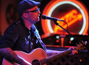 Photo: Stephen Baker performing in Portland.