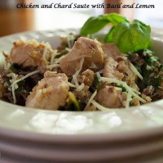 Chicken and Chard Saute Recipe