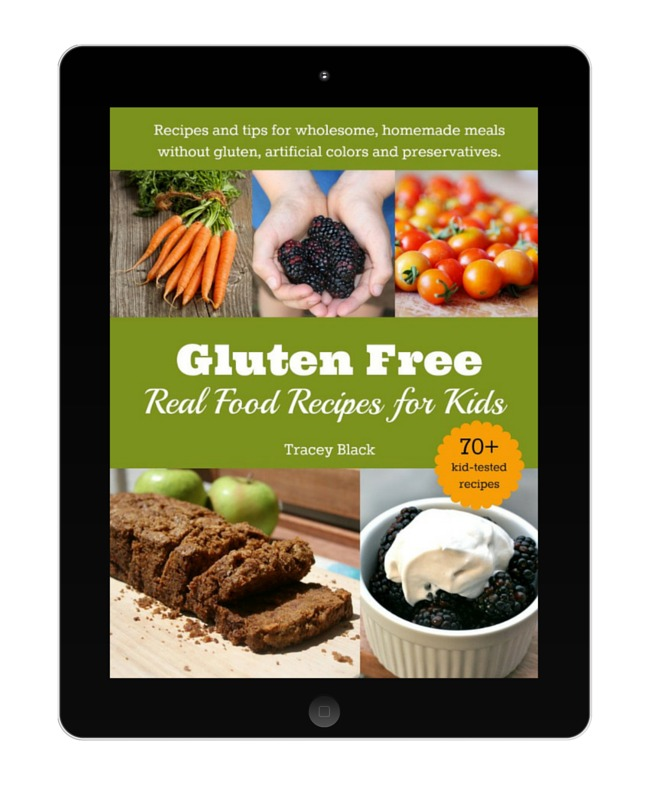 gluten free real food for kids book