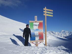 Photo: Ла Туиль: граница Италии и Швейцарии.