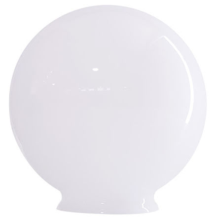 Glasglob opal 250x100 mm