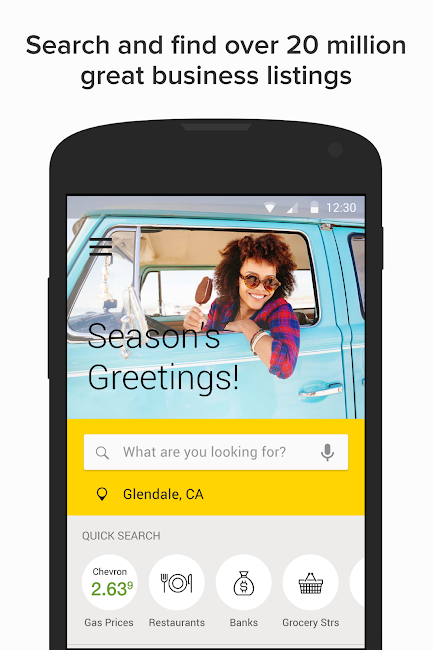 #1. YP - Yellow Pages local search (Android)