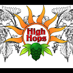 Logo of High Hops Happy Hemp Red