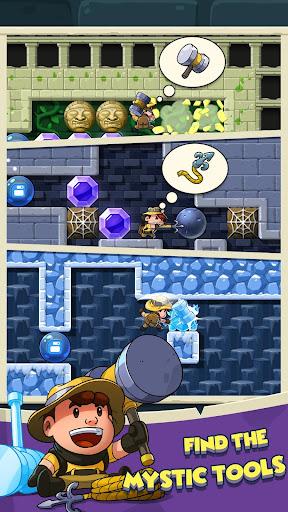 Code Triche Diamond Quest: Don't Rush! APK MOD screenshots 3