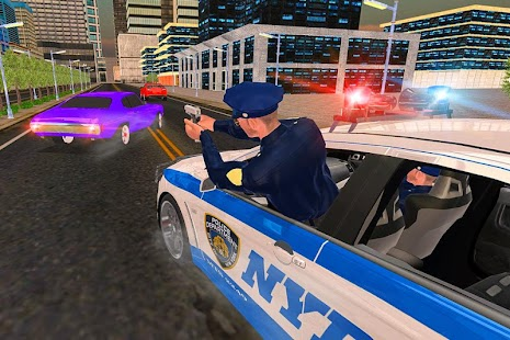 Miami Police Highway Car Chase City Hot Crime War - náhled