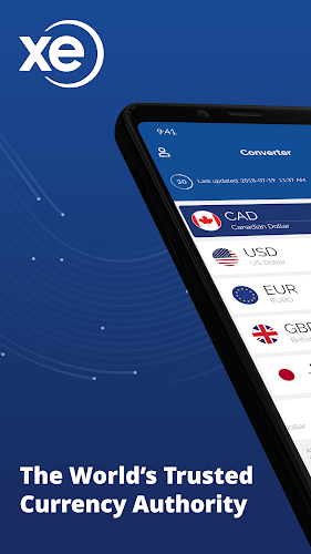 Xe Currency Converter Exchange Rate Calculator Android Screenshot