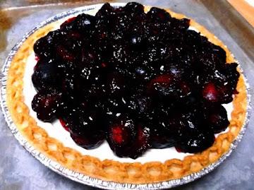 Black Cherry Cream Cheese Pie Recipe