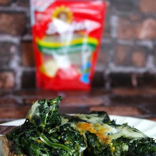 Spinach & Mozzarella Stuffed Portabella Mushroom Cap Recipe