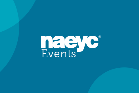 NAEYC Events- screenshot