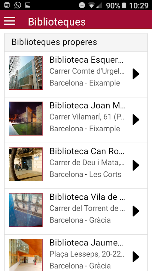 BibliotequesXBM- screenshot