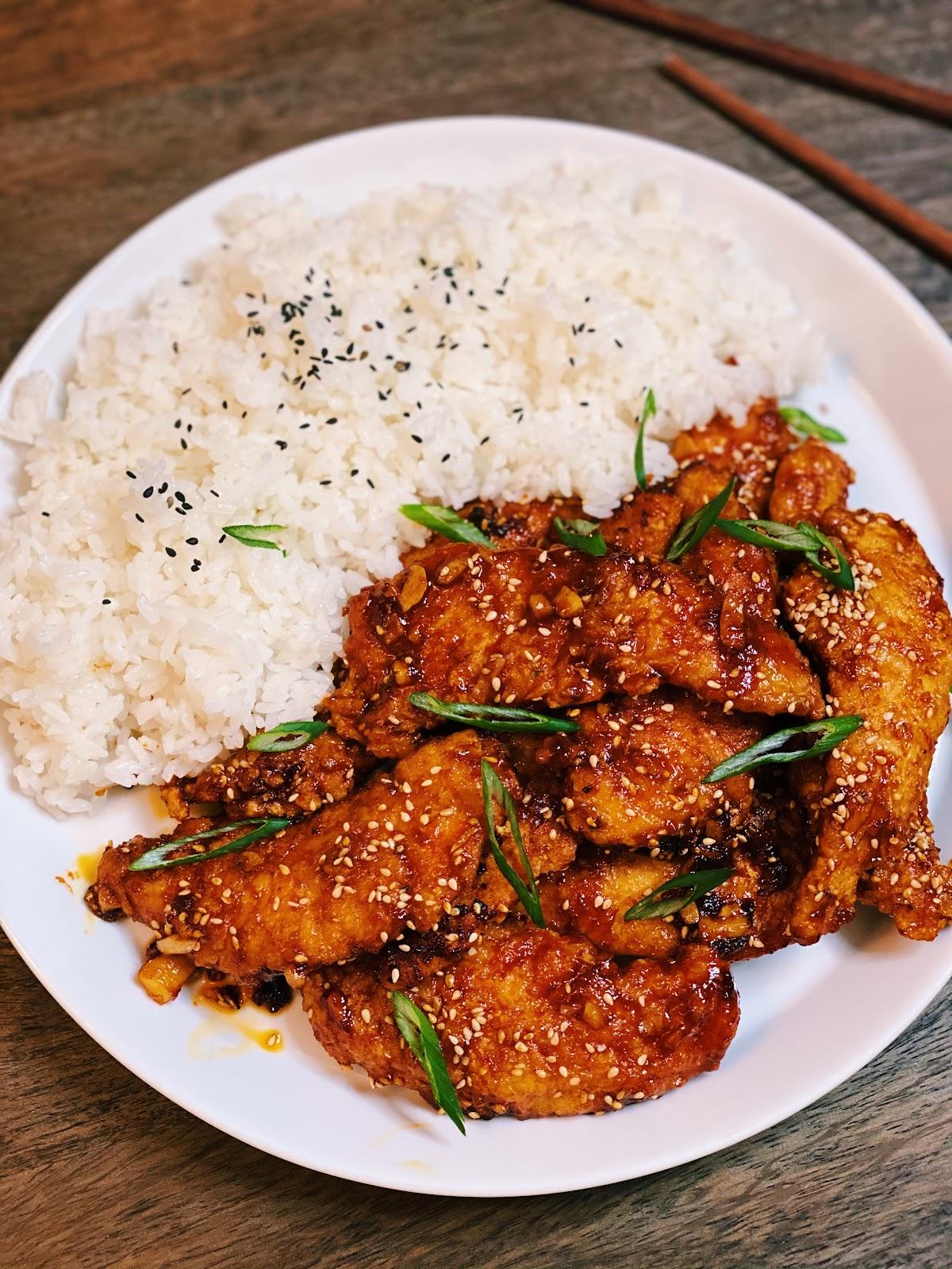 Spicy Honey Chicken Tenders