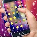 Glittering Stars GO Theme icon