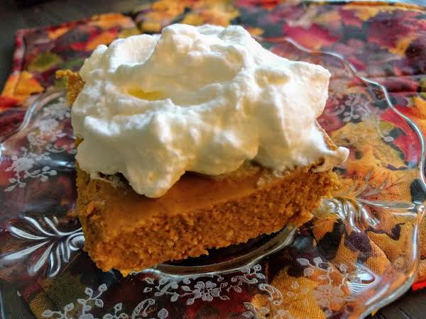 Low Carb Pumpkin Cheesecake Bars Recipe