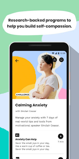 Screenshot for Shine: Calm Anxiety & Stress in United States Play Store