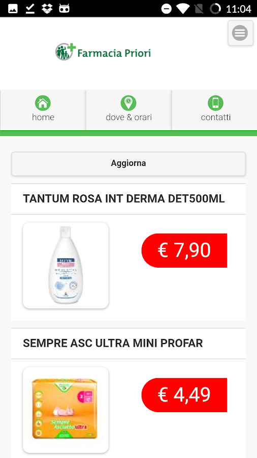 Farmacia Priori- screenshot
