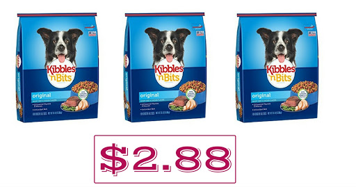 Walmart: $2.88 Kibbles 'n Bits...