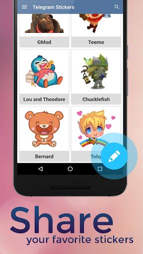 Stickers for Telegram screenshot