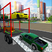Cargo Limo Car Transport Truck –Heavy 3D Drive Sim