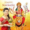 Navratri Photo Editor - नवरात्रि फोटो फ्रेम 2020 icon