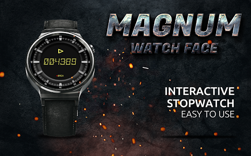 Magnum Watch Face- screenshot thumbnail