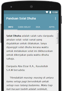 Panduan Solat Dhuha for PC-Windows 7,8,10 and Mac apk screenshot 1