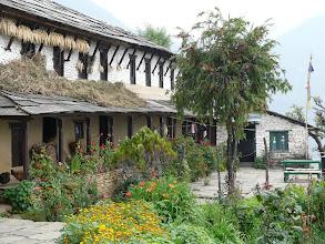 Photo: Die schönste Unterkunft auf unserem Treck war in Ghandruk