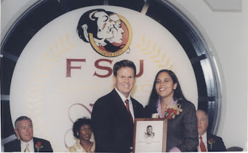 Photo: 2001 Hall of Fame Banquet - On behalf of LeRoy Butler