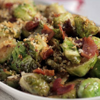 Ultimate Brussels Sprouts with Bacon, Beer, Maple Syrup & Mustard
