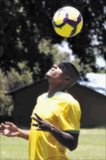 20091217 Franklin Cale former Ajax Cape Town player signed for Mamelodi Sundowns. PHOTO: ANTONIO MUCHAVE