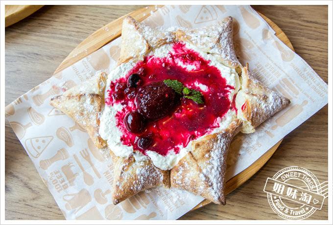 堤諾披薩菜單綜合莓果甜在星