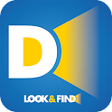LOOK&FIND dog tracking icon