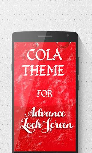 Cola Advance Lock Screen
