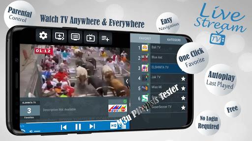 Livestream TV - M3U Stream Player IPTV 3.3.1.2 screenshots 1