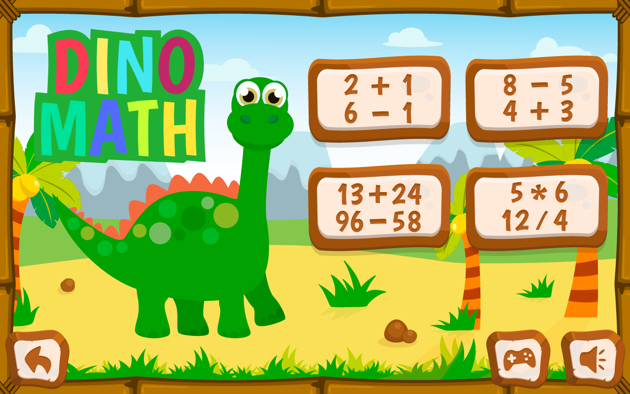 dino math free dino coloring game for kids android apps on