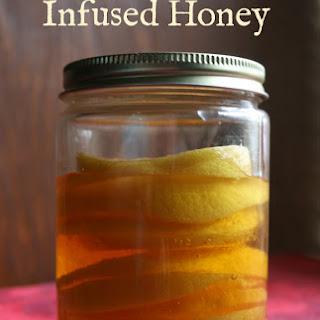 Lemon Infused Honey.