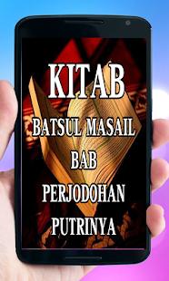 Kitab Batsul Masail Bab Jodoh - náhled