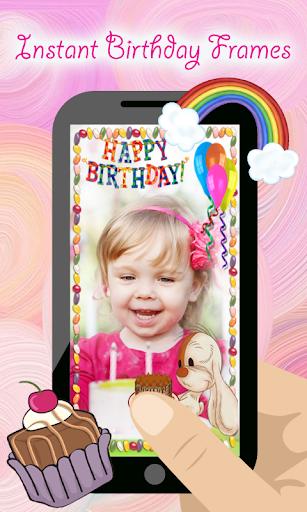 Happy Birthday Pic Photo Frame