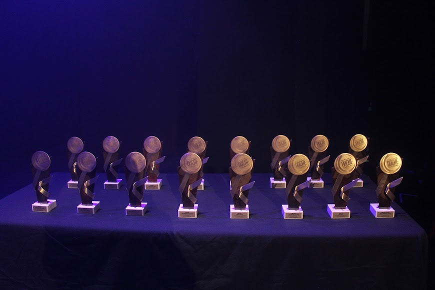 Galardones de los Premios de la Noche Almeriense.