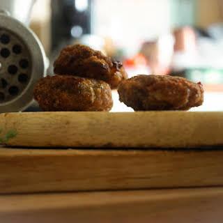 Estonian Meat Balls. Kotletid.