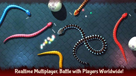 3D Snake . io MOD Apk (Unlimited Money) 7