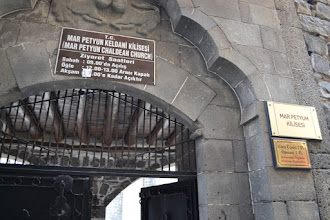 Photo: Chaldean church in Amed city centre