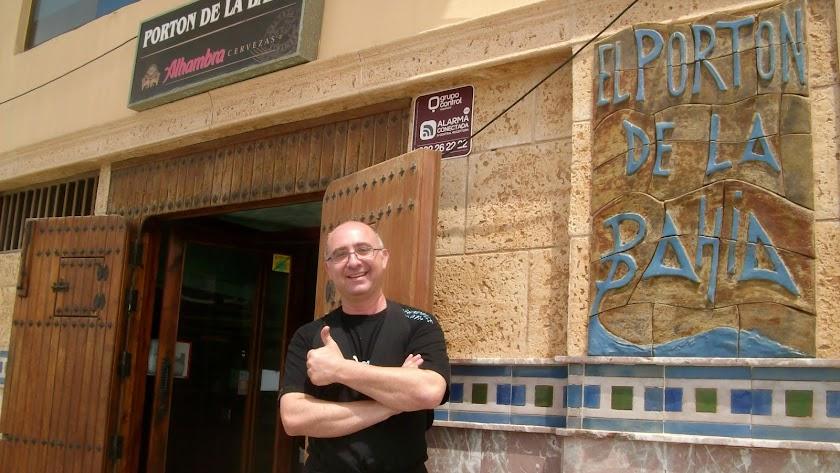 Diego García, dueño del Portón de la Bahía