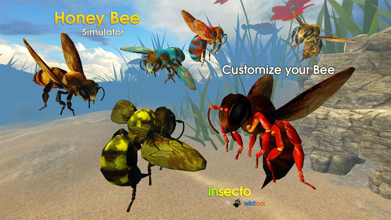 Honey Bee Simulator- screenshot