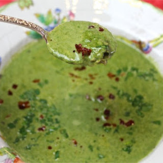 Skinny Oysters Rockefeller Soup