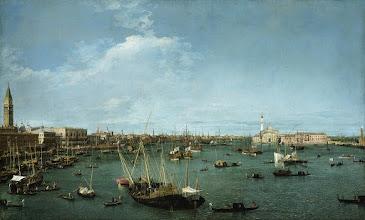 """Photo: Canaletto, """"Il bacino di San Marco verso est"""""""