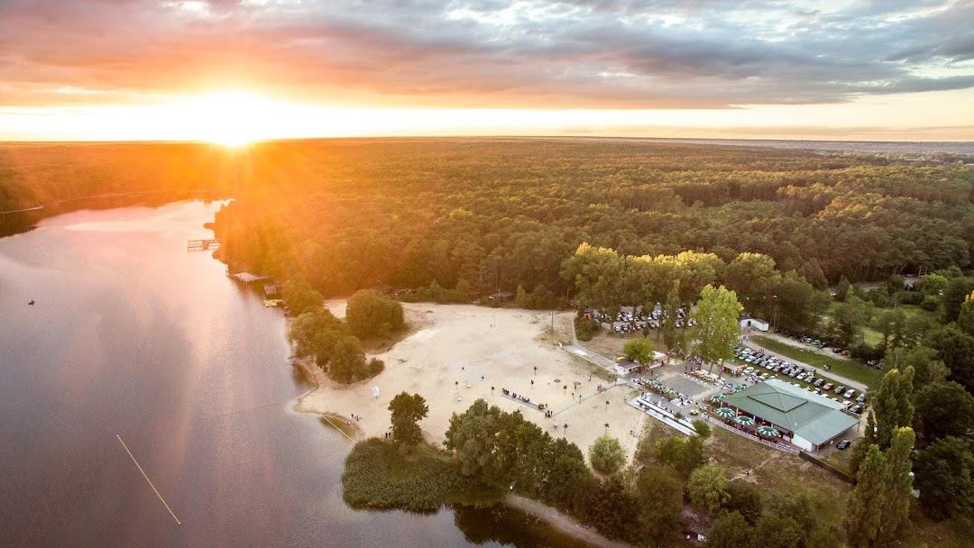 Ogromny Plaża Patelnia - Grabina - Wypoczynek, rekreacja, rozrywka ME59