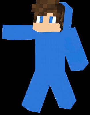 he's a blue man